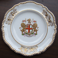 Plate from a service made for the East India Company c.1825